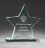 Jade Glass Star Award Boss Gift Awards