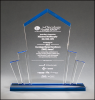 Acrylic Tower Award Corporate Acrylic Awards Trophy