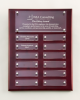 Rosewood High Gloss Perpetual Plaque Executive Plaques