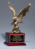 Antique Bronze Finished Eagle Trophy Large Figure Trophies