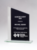 Zenith Series Black Silk Screened Glass Award Religious Awards