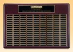 Rosewood Perpetual Plaque 12 Plate Perpetual Plaques