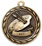Art 2 Round Sculptured Medal   Academic Awards
