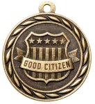 Good Citizen 2 Round Sculptured Medal   Academic Awards