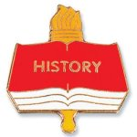 History Lapel Pin Academic Awards