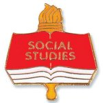 Social Studies Lapel Pin Academic Awards
