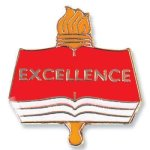 Excellence Lapel Pin Academic Awards