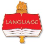 Language Lapel Pin Academic Awards