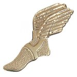 Winged Foot Chenille Pin Academic Awards