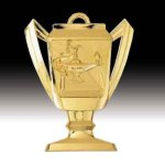 Lamp of Knowledge Trophy Medal Academic Awards