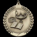 M Series Sculptured Medal Lamp of Knowledge Academic Awards