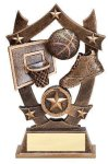 3D Sport Stars Basketball Academic Awards