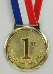 Olympic Style Medal 1st Place  Academic Awards