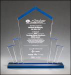 Acrylic Tower Award Achievement Awards