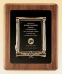 American Walnut Frame with Antique Bronze Casting Achievement Awards