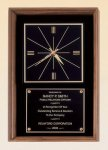 American Walnut Wall Clock Achievement Awards