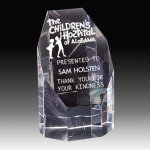 Crystal Faceted Tower Achievement Awards