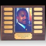 Perpetual Plaque with Photo Holder Achievement Awards