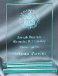 Glass Rectangle Medium Achievement Awards