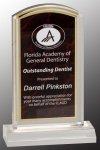 Red Marble Arch Acrylic Acrylic Awards Trophy