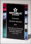 Premium Series Acrylic Acrylic Awards Trophy