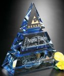 Accolade Indigo Pyramid All Purpose Crystal