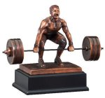 Deadlift Weightlifter All Trophies
