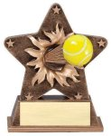 Star Burst Resin -Tennis All Trophies