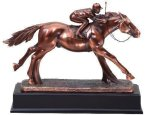 Resin Horse And Jockey All Trophies