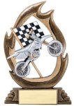Flame Series -Motorcycle All Trophies