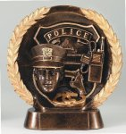 Resin Plate Police All Trophies