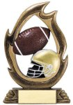 Flame Series Football All Trophies