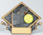 Resin Diamond Plate Tennis All Trophies