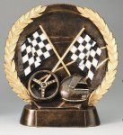 Resin Plate -Racing All Trophies