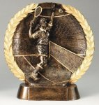 Resin Plate -Tennis Female All Trophies