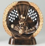 Resin Plate Go-Kart All Trophies