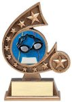 Resin Comet Series Swimming All Trophies