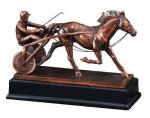 Race Horse and Sulky All Trophies