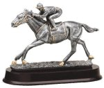 Horse Racing Antique Silver Series