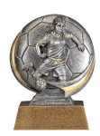 Motion X 3-D -Soccer Female  Antique Silver Series