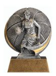 Motion X 3-D -Basketball Female  Antique Silver Series