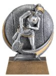 Motion X 3-D -Tennis Female Antique Silver Series