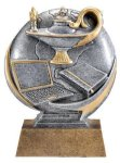 Motion X 3-D -Lamp of Knowledge  Antique Silver Series