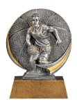 Motion X 3-D -Basketball Male  Antique Silver Series