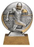 Motion X 3-D -Football Male  Antique Silver Series
