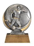 Motion X 3-D -Soccer Male  Antique Silver Series