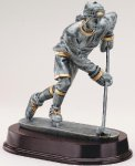 Ice Hockey Forward Antique Silver Series