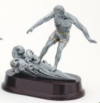 Wave Surfer, Male Antique Silver Series