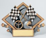Resin Diamond Plate -Racing Antique Silver Series