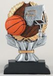 Impact Series -Basketball Antique Silver Series